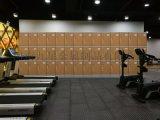 游泳館簡易收納帶門彩色儲物櫃