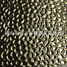 厂家生产不锈钢压花板 水波纹不锈钢台面板