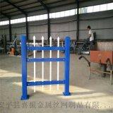 圍牆護欄、別墅圍牆護欄、圍牆鋅鋼防護欄