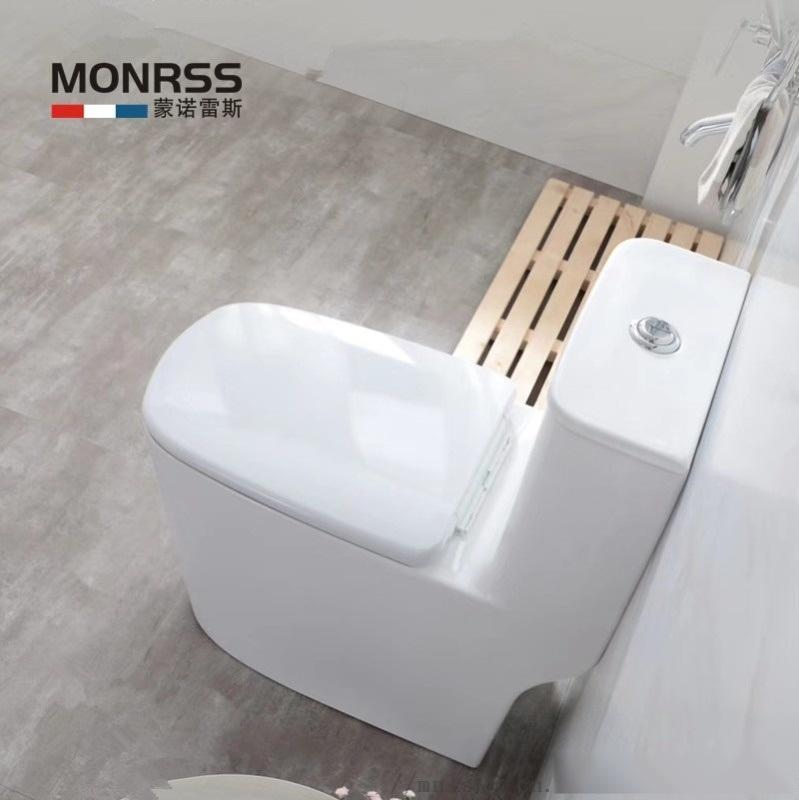 坐便器,蒙诺雷斯1808连体座便器