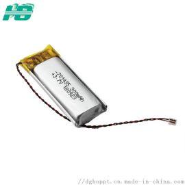 厂家直销701435聚合物**电池300mAh聚合物电池3.7V软包电池可定制