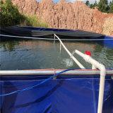 高密度养殖水池 水池养殖帆布水池 大棚养殖水箱