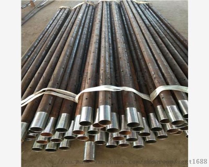 贵州钢花管-管棚管》108X6注浆钢管
