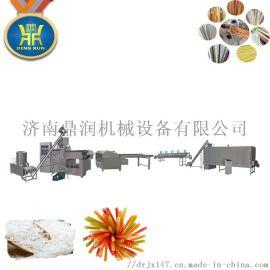 韩国大米吸管生产线可食用吸管挤压膨化机