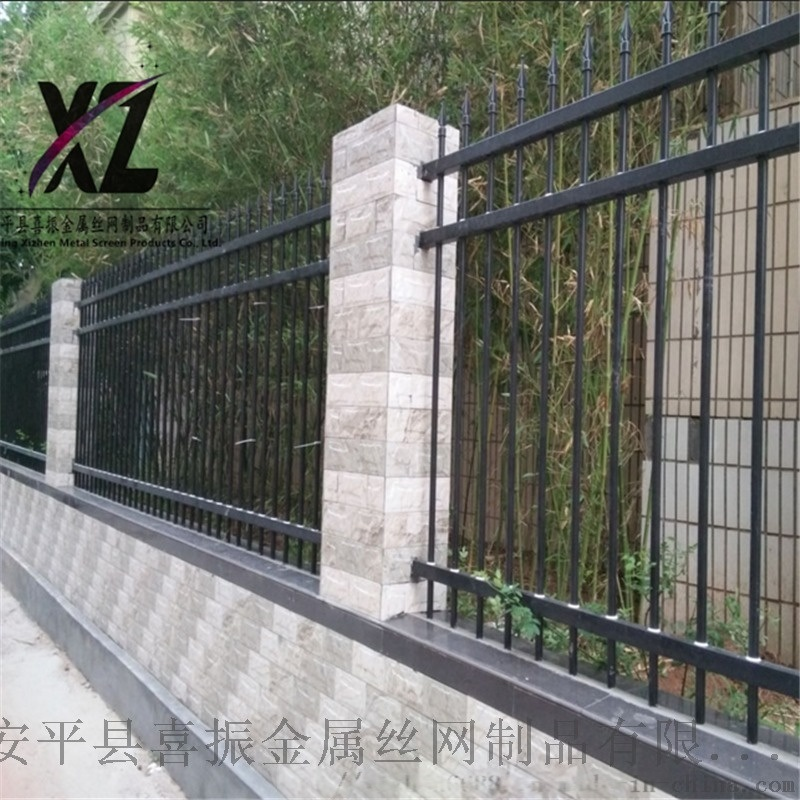 小區外牆鋅鋼護欄、大溝鄉圍牆護欄、院牆欄杆防護欄