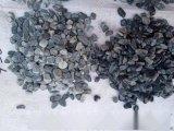 上海灰色胶粘石   永顺灰色机制石子价格