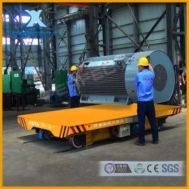 安全可靠帕菲特BDG20T低压轨道平板拖车模具转运车地轨平板车厂区运输