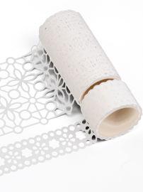 来图定制漂亮简约图案镂空工艺手帐胶带