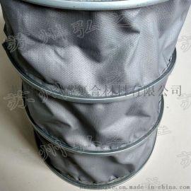 风管用灰色高温布 双面硅胶布生产厂家 灰色红色