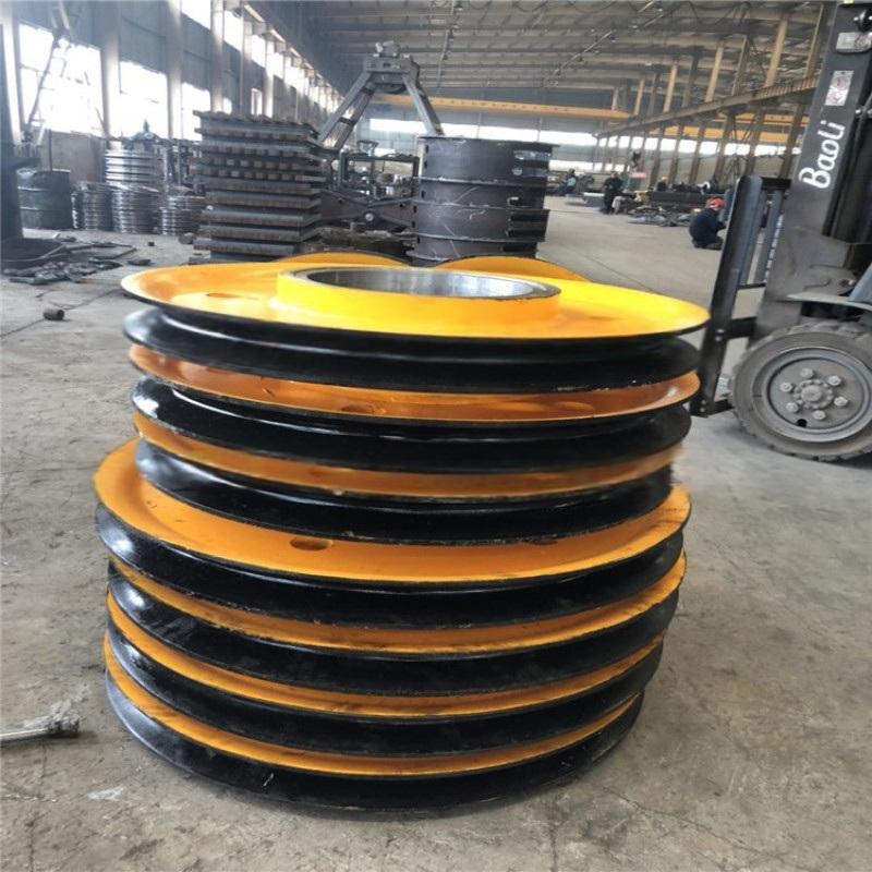 铸钢滑轮片起重机各种型号滑轮片量大从优大吨位滑轮组