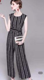 布伦圣丝广州大气女装品牌连衣裙尾货库存货源市场