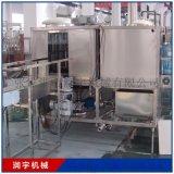 果酱灌装机 柱塞阀灌装设备 旋转式油灌装机