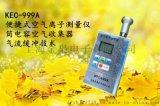 上海金枭手持式空气负离子测量仪KEC-999A