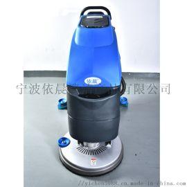 宁波手推式洗地机停车场洗地机|环氧地面洗地机