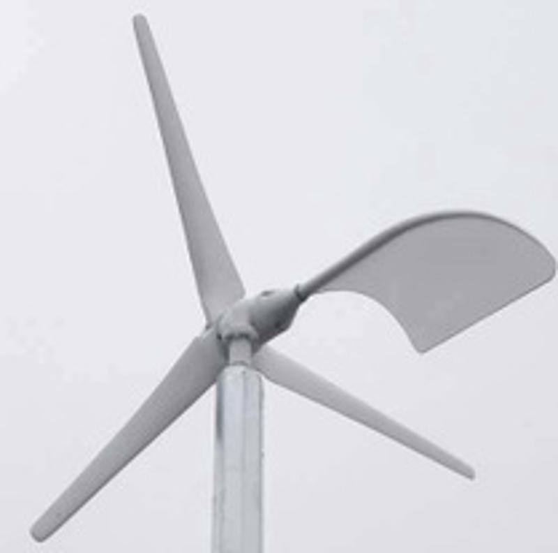 纯铜线永磁风力发电机低转速1KW家用风力发电机增强玻璃钢叶片