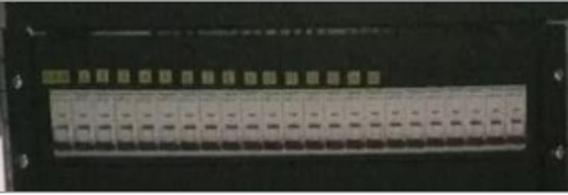 江海 电视转播系统 机位箱 机架式集中供电系统 音视频接插件 音视频跳线架