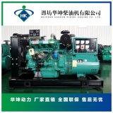 50kw柴油发电机组 潍坊R4105ZD发动机配无刷电机 柴油发电机组