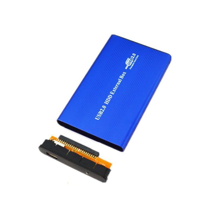 工厂直销2.5寸IDE并口移动硬盘盒USB2.0硬盘壳自外置移动硬盘盒