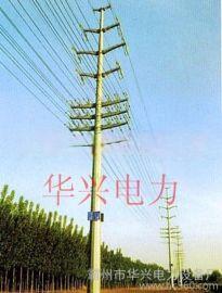 涿州10KV鋼管塔、電力杆及高爾夫球場網杆
