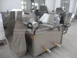新式油炸坚果油水混合油炸机械