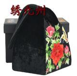 绣九州 苏绣手工刺绣 礼品 宴会女士必备 小拎包 牡丹图案