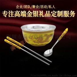 纯银餐具 纯银筷子 纯银实心银筷子千足银筷子