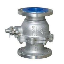 不锈钢法兰球阀 法兰连接可以气动手动驱动