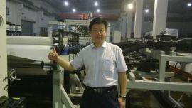 金韦尔机械石头纸生产线、塑料合成纸生产线