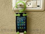 硅胶人形支架手机座 懒人手机支架 人形车载支架