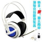 酷比特T-168 网吧外设游戏耳机 LED发光头戴式耳机