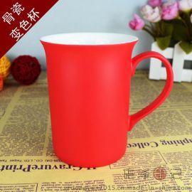 深圳**骨瓷马克杯创意定制照片diy变色马克杯