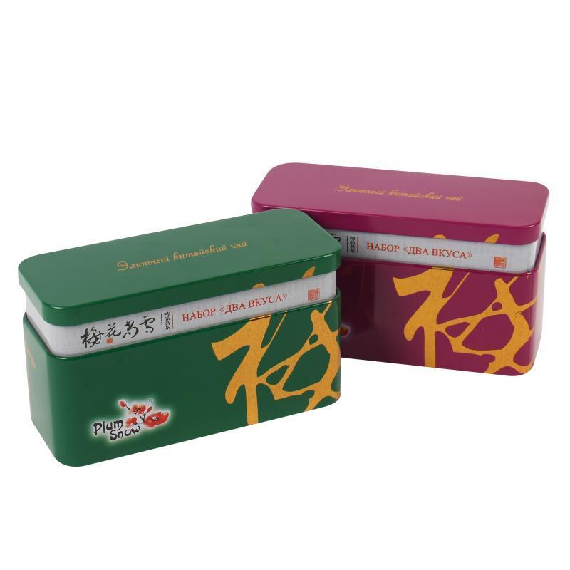 食品铁盒 马口铁接颈扁形食品包装盒