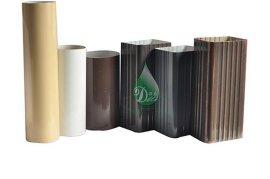 铝合金排水管 阳光房排水系统 金属落水管