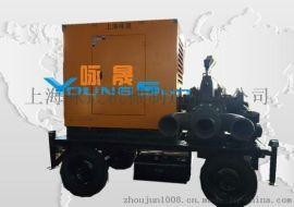 防汛抗旱移动消防泵 柴油机消防泵