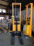 易操作 廠家直銷 1.5T 升1.6米/2.5米/3.0米 半電動液壓堆高車/叉車/堆垛車