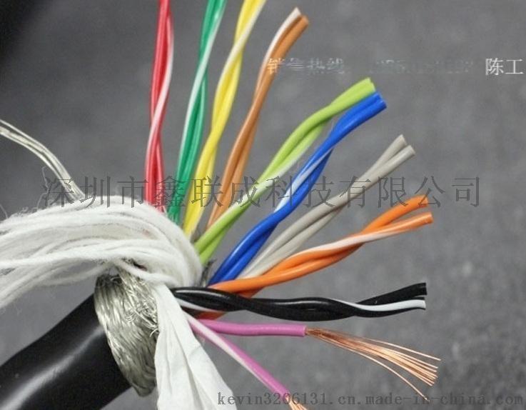 40芯TRVVSP40*0.2拖链高柔性双绞屏蔽线