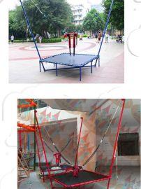 儿童蹦极玩具蹦床成人户外娱乐蹦极床商用折叠广场跳跳床蹦蹦床