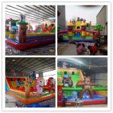 新款充气城堡蹦蹦床,儿童乐园气模,室外大型玩具滑梯