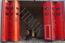 吉林钢制折叠门价格 长春电动折叠门厂家