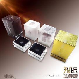 广州厂家定做出口型香水化妆品包装盒 纸盒礼盒定制 金银卡平盖盒