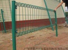 双圈护栏网 卷网隔离栅 绿化带护栏