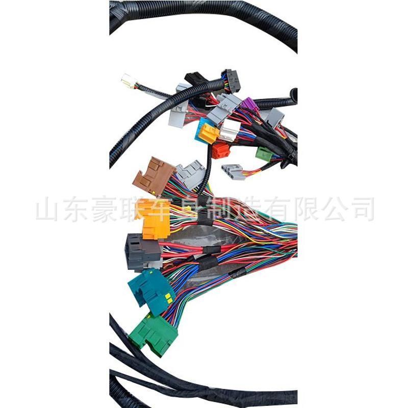 中国重汽配件 HOWOT7 发动机线束 国五 国六车 APS系统 图片厂家