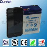 ups 用太陽能電池超長使用壽命,金太陽認證6v4.5ah小電池