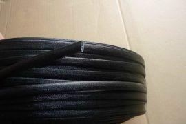 供应黑色硅树脂纤维管
