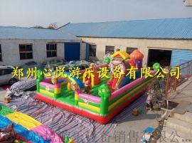 心悦XY60平方儿童充气蹦蹦床