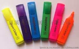 工厂供应颜色鲜艳水性荧光笔H-206
