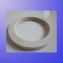 石材抛光用毛毡轮,羊毛轮,羊毛毡轮