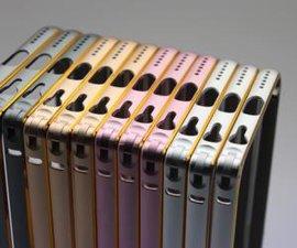 东莞厚街专业铝合金苹果手机金属边框