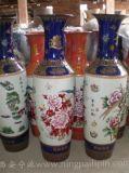 酒店開業西安大花瓶定製,西安花開富貴大花瓶批發