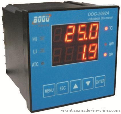 上海博取DOG-2092A型工业溶解氧仪带温补响应快稳定可靠微机化高智能在线连续监测仪表
